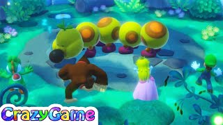 Super Mario Party - All Difficulty Minigames Gameplay