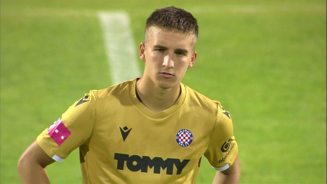 Jan Mlakar scored for Hajduk