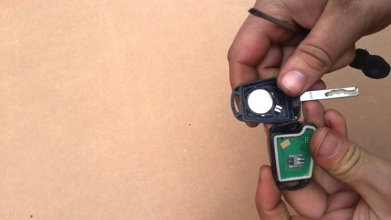 Image result for pictures of inside a key fob with battery