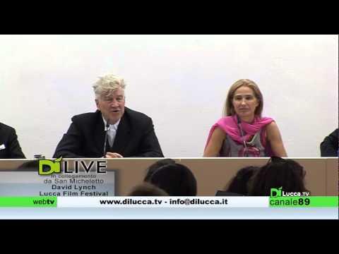 Di Live - Conferenza stampa integrale David Lynch al Lucca Film Festival 2014