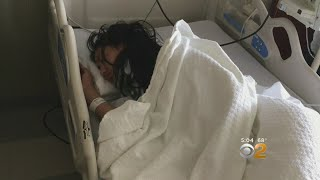 CBS2 Exclusive: Family Of Queens Woman Knocked Unconscious By Tire On NJ Turnpike Speaks Out