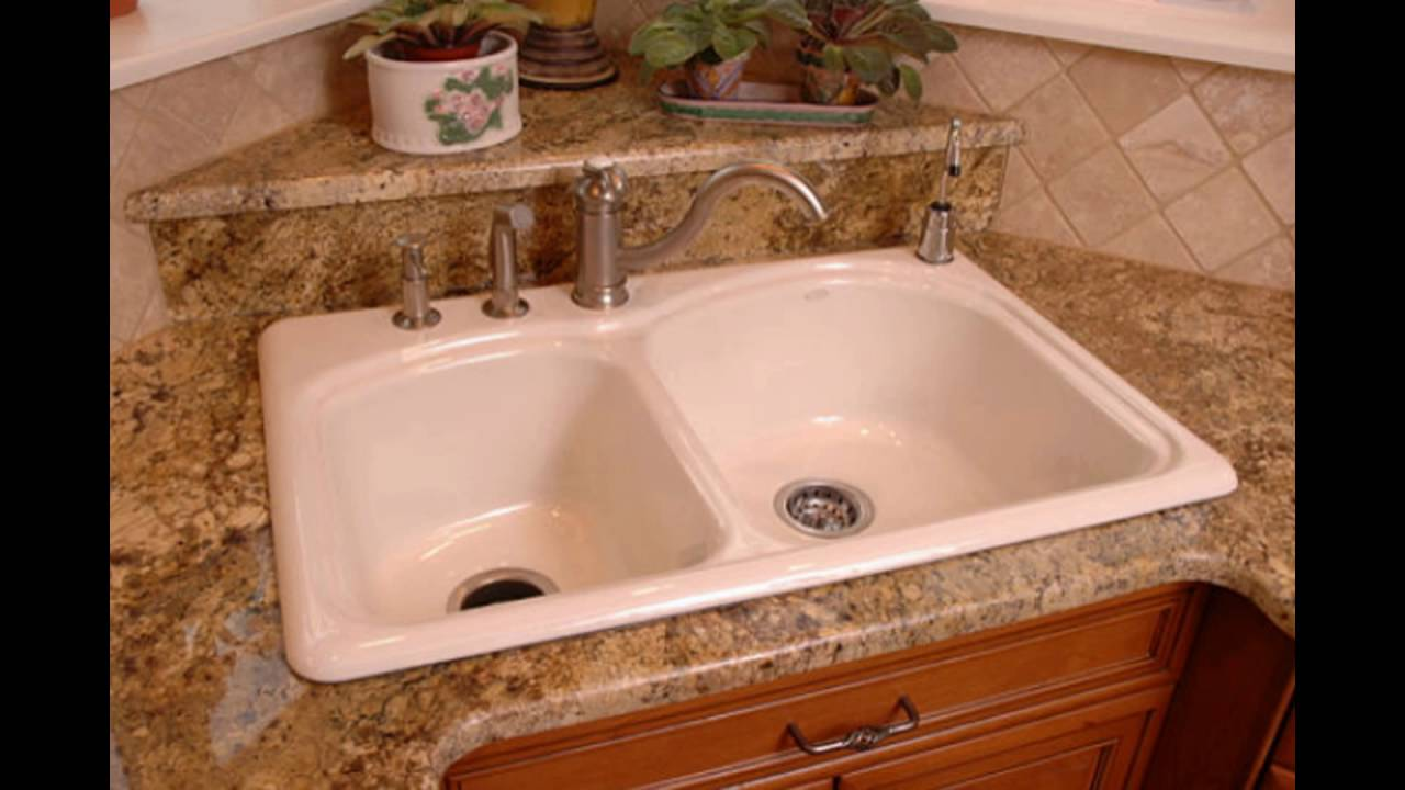 Cast Iron Kitchen Sink Manufacturers Enameled cast iron kitchen sinks youtube enameled cast iron kitchen sinks workwithnaturefo