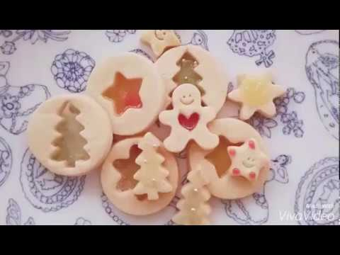 【Kokoma】用糖果簡單做出超美的玻璃餅乾 Glass cookie