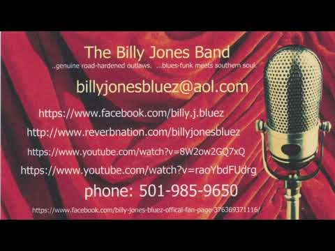 Cant Let You Go - The Billy Jones Band