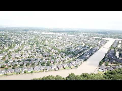 Grand Lakes Phase 3 Community Flooding Katy TX video 2