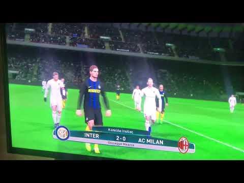 After serie A cup de italia calcio second match on pro
