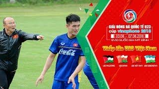 U23 Việt Nam tiếp tục tập luyện - chuẩn bị cho cuộc hội ngộ U23 Uzbekistan | VFF Channel