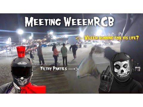 Meeting WeeemRCB - Chasing him with Batman's Dirty Panties