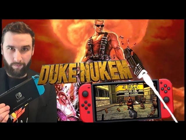 Bon Gros FPS à 4.99€ sur Nintendo Switch | Duke Nukem GAMEPLAY FR