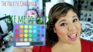 The Palette Challenge: BH Cosmetics Take me to Brazil Thumbnail