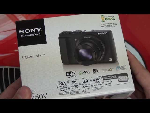 Sony Cyber-shot DSC-HX50V Unboxing