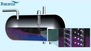 Tracerco Profiler, radioativo nuclear óleo gás instrumentos separador dessalgadora separação
