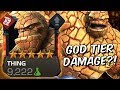 5 Star Rank 4 Thing Gameplay God Tier Damage Marvel Contest Of Champions mp3