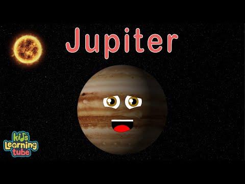 Jupiter/Planet Jupiter/Jupiter Song for Kids (REMIXED) with more facts