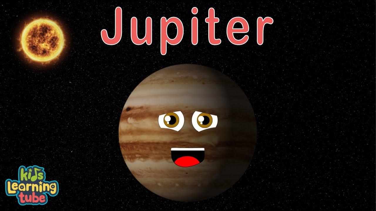 Jupiter Facts For Kids  Planet Jupiter  Jupiter Song