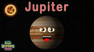 Jupiter/Planet Jupiter/Jupiter Song for Kids (REMIXED) with more facts thumbnail