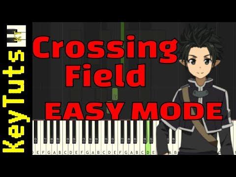 Learn to Play Crossing Field from Sword Art Online - Easy Mode
