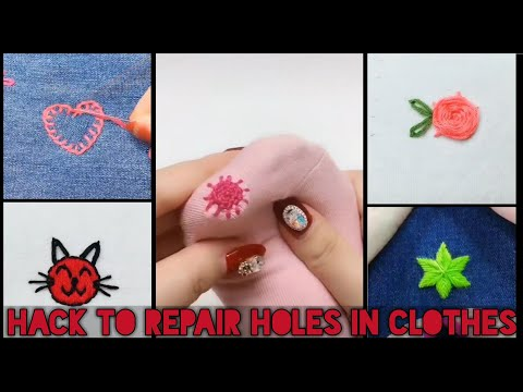 easy-embroidery-hack-to-repair-hole-in-clothes