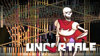 Synthesia: Undertale - Bonetrousle | 101,000+ Notes | Black MIDI
