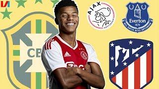 Toekomst Van David Neres: Everton, Atlético Of Toch Een Extra Jaar Bij Ajax?