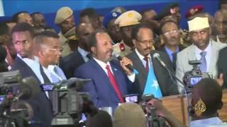 محمد عبد الله فرماجو رئيسا للصومال