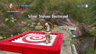 Lego City Undercover (wii U) ~ Collectables Guide - Fort Meadows (part 1/3)