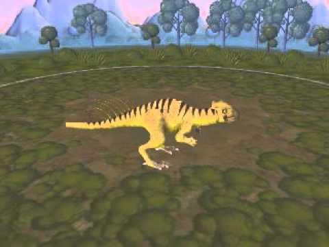 Spore dinosaur Chaoyangsaurus