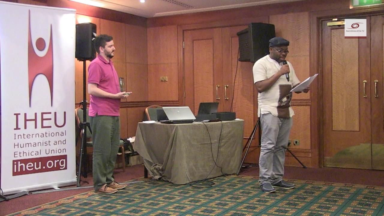 Humanists in danger.  IHEU award for Leo Igwe