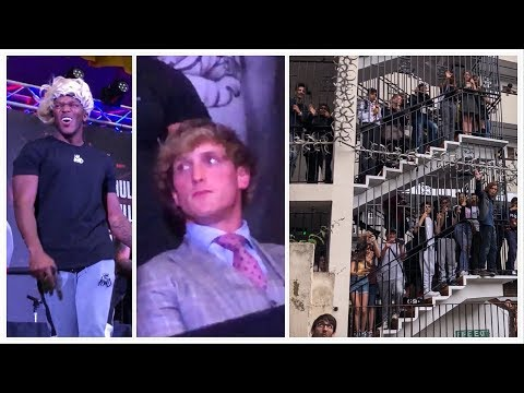 KSI vs LOGAN PAUL *UK* Press Conference Behind The Scenes! thumbnail