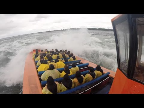 CRAZY Jet Boating in Montreal, Canada