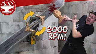 WORLD'S DEADLIEST FIDGET SPINNER (SPINNING THANOS SWORD)