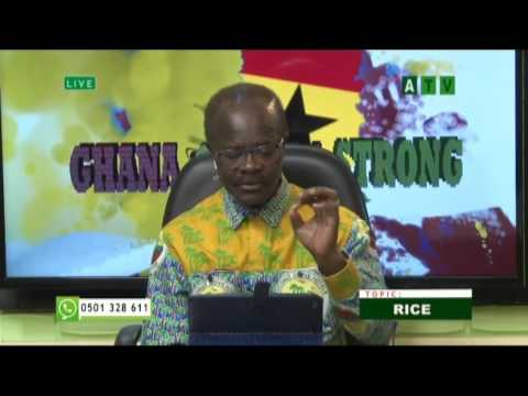 Rice production in Ghana with Dr. Nduom