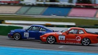YTCC. Onboard: Hockenheim historic - Porsche 944 - Race 2