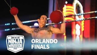 Flip Rodriguez at 2015 Orlando Finals | American Ninja Warrior