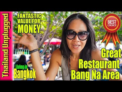Fantastic Value Restaurant Bangkok Thailand ultra 4k