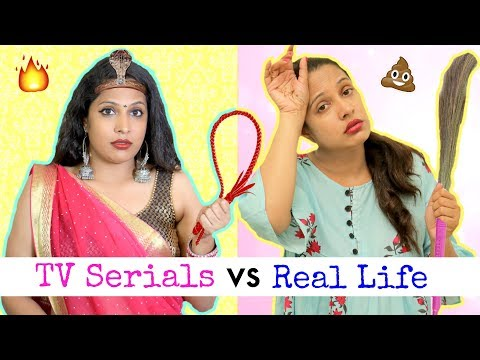 TV Series Vs Real Life  Part 2   Giveaway Fun Sketch Roleplay ShrutiArjunAnand
