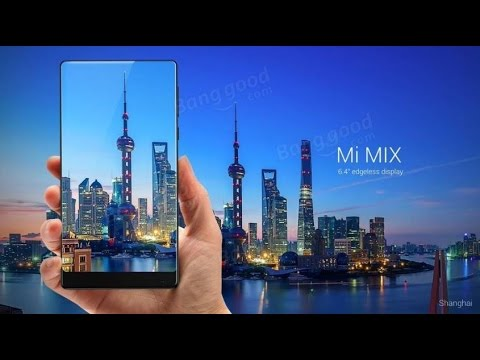 d7a0fcedfc1c5 Xiaomi Mi MIX 18k 6.4 inch Edgeless Display 6GB RAM 256GB ROM Snapdragon  821 Quad Core 4G Smartphone