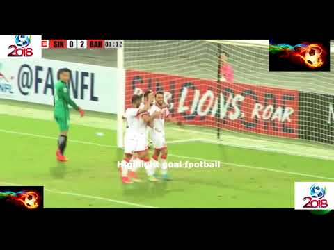 Singapore vs Bahrain Full Highlight 0-3 asian cup R5 14/11/2017