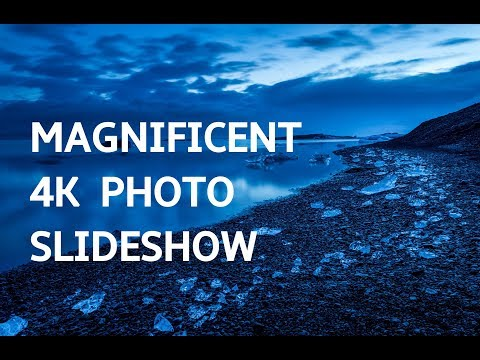 MAGNIFICENT PHOTO SLIDESHOW IN 4K! Beautiful Art Photography Slideshow Screensaver | Silent Scenery