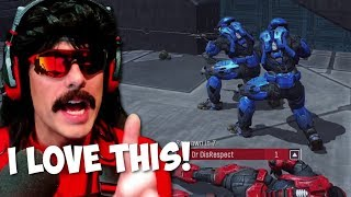 DrDisrespect Loves and Enjoys NEW HALO REACH on PC!