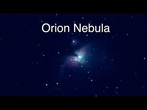 Moon96%, Venus, Sirius, Orion Nebula & Satellites On This Gorgeous Night In Ohio
