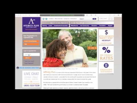 Affinity Plus Federal Credit Union Online Banking Login Information