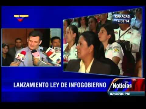 Ministro Manuel Fernández sobre entrada en vigencia de Ley de Infogobierno (software libre)