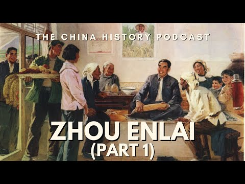 Zhou Enlai Part 1 - The China History Podcast, presented by Laszlo Montgomery