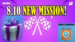 New Unique Mission | 8.10 Patch Notes - Fortnite STW | A great Fortnite Update