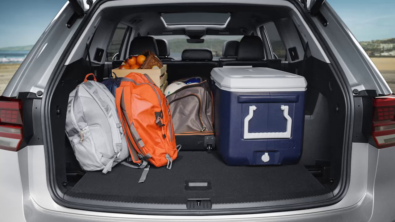 Larry H Miller Tucson >> Volkswagen Atlas | Cargo Space and Fold Down Seating - YouTube