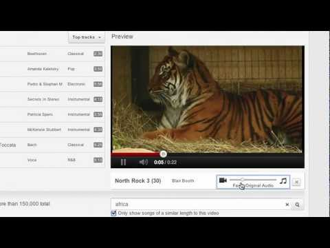 Audio Editing on YouTube