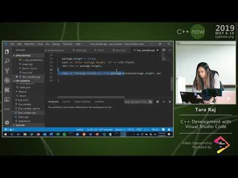 "C++Now 2019: Tara Raj ""C++ Development With Visual Studio Code"""