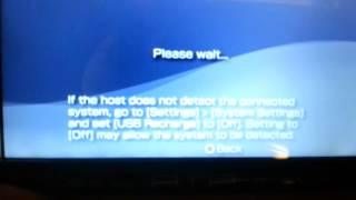 PSP usb connection problem... Please help