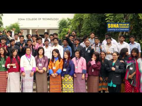 Bhutan Students Life at Sona College of Technology, Salem, Tamilnadu, India